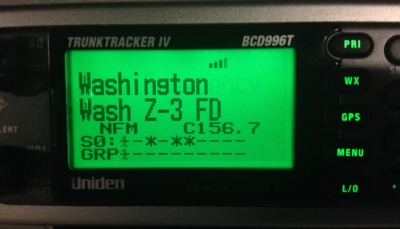Washington County Zone 3 Scanner